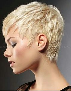 Short for women: Pixie Cut, Pixie Haircut, Cropped Pixie – Pixie Cut - All For New Hairstyles Short Pixie Haircuts, Pixie Hairstyles, Short Hairstyles For Women, Trendy Hairstyles, Hairstyles 2016, Short Cropped Hairstyles, Layered Hairstyles, Hairstyles Videos, Medium Hairstyles