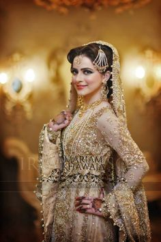 Traditional and classic Bride, makeup by Mariam khawaja