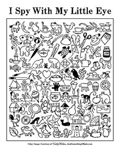6 Best Images of I Spy Activities Printables - I Spy Printable Worksheets for Kids, I Spy Worksheets Free Printables and Free Printable I Spy Christmas Game Speech And Language, Phonics, Teaching Resources, Teaching Ideas, Primary Teaching, Literacy, Coloring Pages, Activities For Kids, Listening Activities