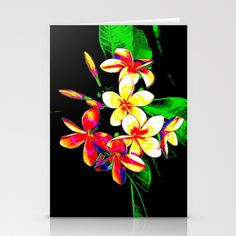 Flowering Stationery Cards by Christa Bethune Smith, Cabsink09 - $12.00