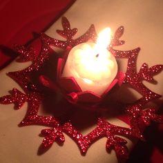 Ferma posto natalizio rosso ❤️