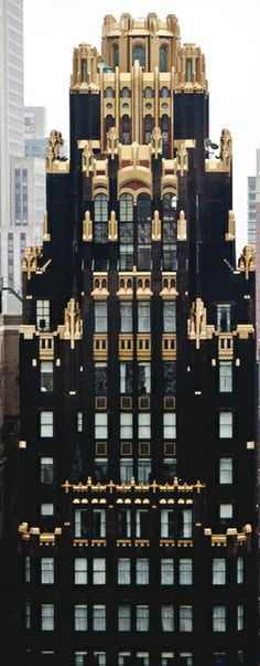 The American Radiator Building in New York City | The House of Beccaria