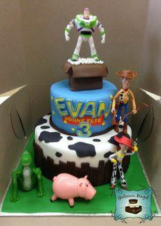 Photos ENFANTS | Gâteaux Magik toy's story cake gateau histoire de jouet Toy Story Cakes, Toy Story Birthday, Disney Toys, Mousse, Birthday Parties, Party, Desserts, Photos, Food