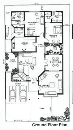 Bestie floor plan room kitchen c 3d House Plans, Indian House Plans, Model House Plan, 4 Bedroom House Plans, Simple House Plans, House Layout Plans, Basement House Plans, Home Design Floor Plans, Duplex House Plans