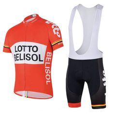 Breathable pro team lotto belisol cycling jerseys summer Short sleeve quick dry cloth MTB Ropa Ciclismo Bicycle maillot GEL