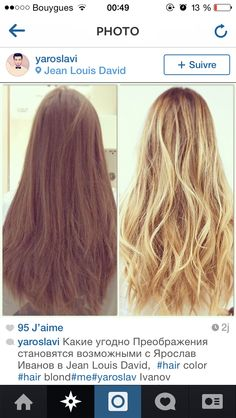 from brunette to blonde before and after haircolor