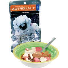 Astronaut Food Neapolitan Ice-Cream