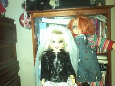 My repaint and hair job for my bride of chucky tiffany