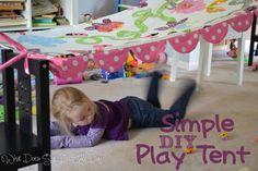 Simple DIY Play Tent