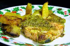 Terapia do Tacho: Salmão com molho verde (Green sauce salmon)