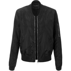 LE3NO Womens Classic Zip Up Bomber Jacket ($23) ❤ liked on Polyvore featuring outerwear, jackets, pocket jacket, bomber jacket, zip up jackets, blouson jacket and raglan jacket