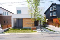 House Tokyo, Home Lighting, Facade, Exterior, House Design, Garden, Outdoor Decor, Modern, Home Decor
