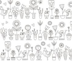 lamai's shop on Spoonflower: fabric, wallpaper and wall decals