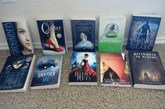 Win 10 YA Fantasy/Sci-Fi/Dystopian Paperback Novels!