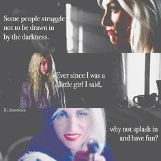 Cruella.  Honestly the craziest villain to ever enter Storybrooke.  Others may be more legendary, but Cruella was just effing crazy.