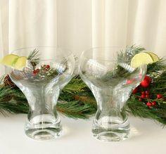 Huge Margarita Glasses 24 Ounce Glass Set of Two #Unbranded