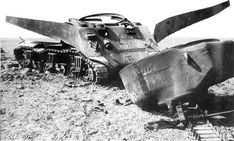Wrecked American Sherman tank after the Battle of Kasserine Pass in March 1943. Tactically the veteran Afrika Korps handled the fledgling US armoured units severely, though ultimately their offensive was a strategic failure, and the Americans learnt fast.