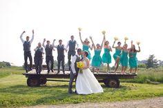 Cool Picture for Megan's future farm wedding