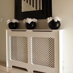 Dekoration Attractive Colorful Decorating Decorative Interior Modern Radiators ScreensModern Interior Decorating with Colorful Radiators and Attractive Decorative Screens Hallway Furniture, Modern Furniture, White Furniture, Hallway Decorating, Interior Decorating, Decorating Ideas, Best Radiators, Modern Radiators, Flur Design