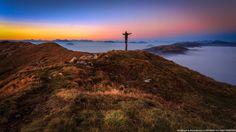 Monte Guglielmo Sunset - Mount Guglielmo Sunset