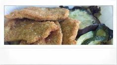 Milanesi di pollo con verdure grigliate ... box lunch