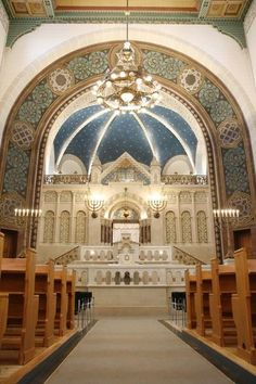 The largest Synagogue in Germany is in East Berlin