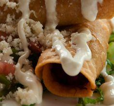Tacos mineros: una botana mexicana rica y bien balanceada