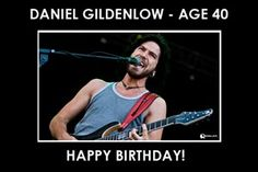 Daniel Gildenlow of Pain Of Salvation is now 40. Happy Birthday!