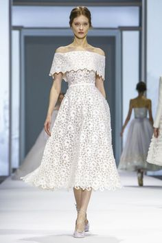 Closing the official calendar of Haute Couture in Paris, British brand Ralph & Russo presented their latest collection on Thursday, as the French capital gelled in a series of protests and demonstr...