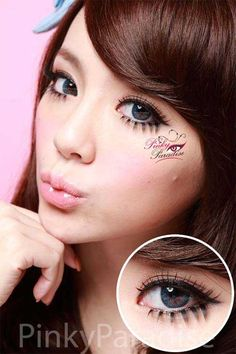 G&G Natural Blue Circle Lenses (Colored Contacts)