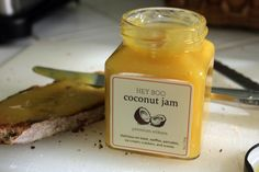 Things I've Been Spreading on My Toast - Hey Boo Coconut Jam