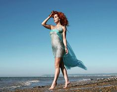 Casual stroll on the beach. Nude, of course. And why the hell not? A shot from the lovely Tim of Bosworth. #stroll #shiny #redhead