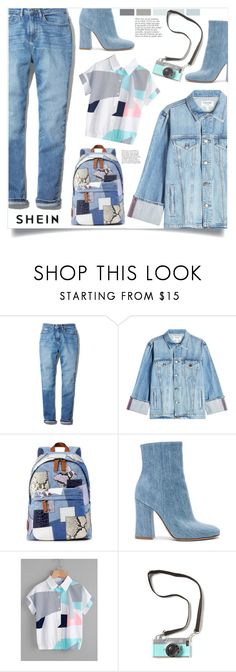 """""""Untitled #1840"""" by kriz-nambikatt ❤ liked on Polyvore featuring Calvin Klein, Frame, Marc Jacobs, Gianvito Rossi and Anja"""