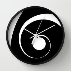 Clocks – Decor : Spiral Spiral Wall Clock -Read More –