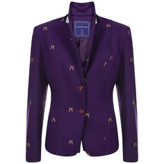 Sporting Hares Beauchamp Blazer in Deep Violet from Lofthouse Equestrian! #sportinghares #preppy #britishprep