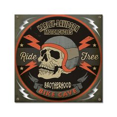Take The Bitch-Leave The Bike`Metal Motorcycle Sign/>Cool Sign-/>Free To US