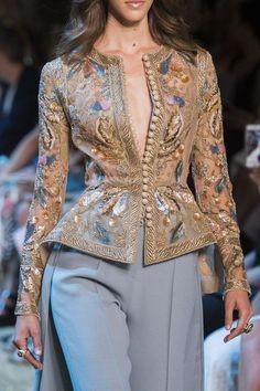 Elie Saab Fashion Show Details