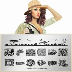 Lacquer Lockdown - MoYou London, nail art stamping plates, nail art stamping…