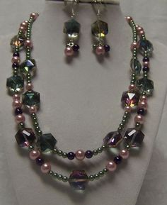 a love creation from JMP member Gina Moody- Crystal and pearls, via Flickr.