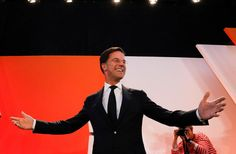 #world #news  Dutch election shows tepid EU support beat fragmented protest votes