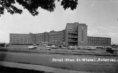 Hôtel-Dieu Saint-Michel( Hôpital de Roberval)  vers les années 60