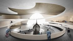 Viking Museum Oslo – Architecture and Design Studio Dynamic Architecture, Religious Architecture, Interior Architecture, Interior Design, Viking Museum, Corporate Interiors, Artistic Installation, Staircase Design, Design Museum