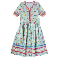 Paradise Bunch Button Front Dress | Robes | CathKidston