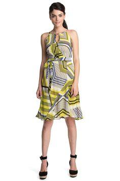 Esprit jurk met grafische print COLLECTION kopen in de online shop