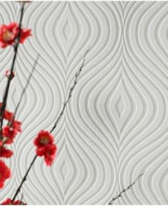 Graham & Brown Curvy Paintable Wallpaper | 2Modern
