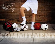Senior sports photography poses Urban Wings Artography