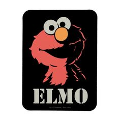 Imán Elmo medio | Zazzle.com Create Your Own, Create Yourself, Elmo Sesame Street, Custom Mouse Pads, Edge Stitch, Corner Designs, Marketing Materials, Design Elements, Blanket