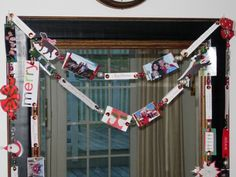 Repurposing idea for old Christmas cards