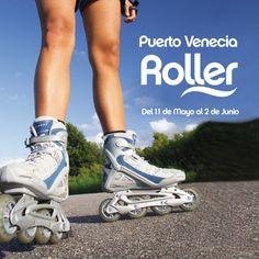 Este fin de semana apúntate a la fiesta roller!!!  Puerto Venecia te invita a pasar unos días sobre patines con un montón de actividades gratuitas en la Zona Multiusos.