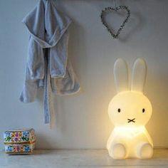 MIFFY lamp! Cute display in the bedroom